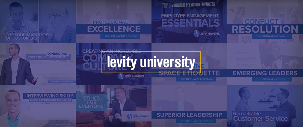 Levity University - Jeff Havens Video Training