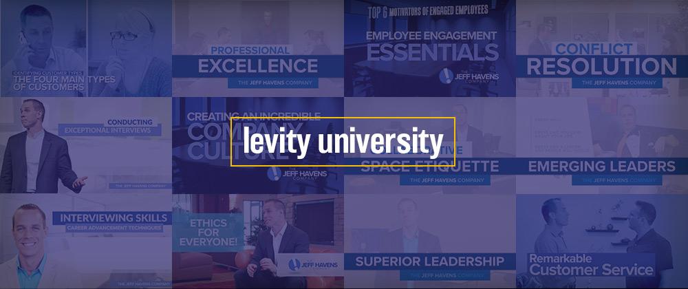 Levity University - Jeff Havens Video Training